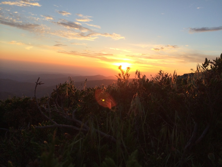 Sonnenuntergang Punta Marmora