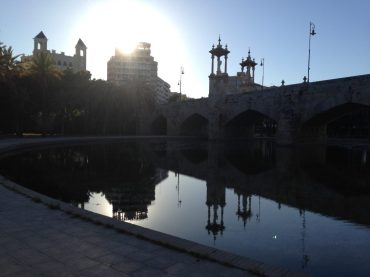 Im Stadtpark von Valencia