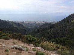 Blick von Ojén auf Marbella
