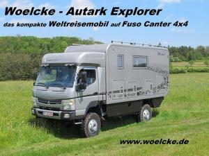 Woelcke Fuso Canter 4x4 Vorführwagen