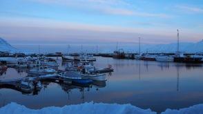 Hafen in den Westfjorden Islands