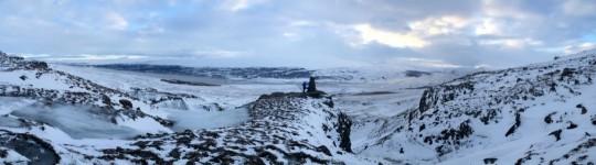 Umgebung auf der Wanderung zum Hengifoss