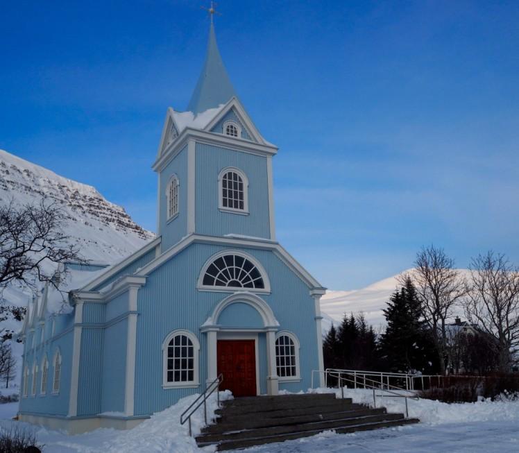 Kirche in Seyðisfjörður