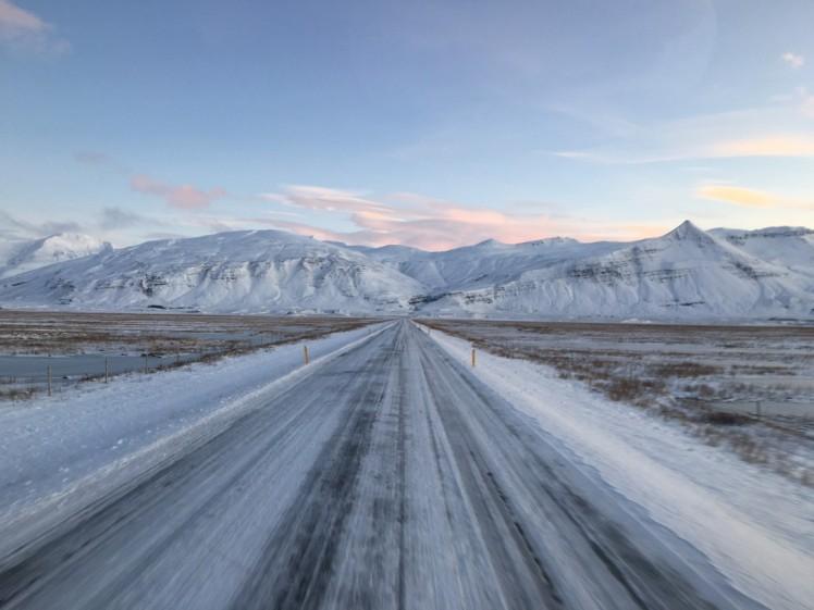 Auf dem Weg durch Island