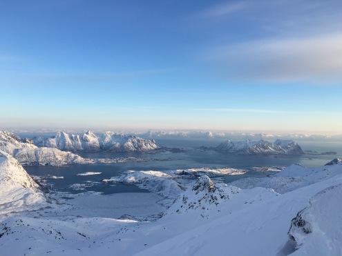 Wundervoller Blick vom Rundfjellet