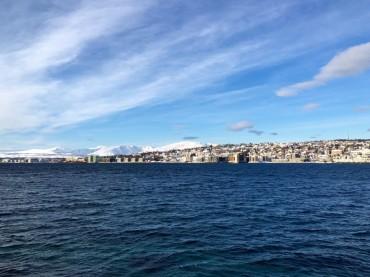 Tromsø von der E6 aus
