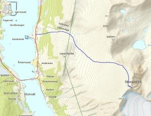 Route Storgalten