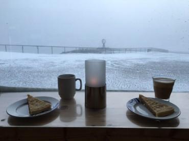 Kaffee und Kuchen am Nordkap