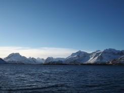 Berge auf den Lofoten