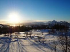 Ausblick von einer Skitour