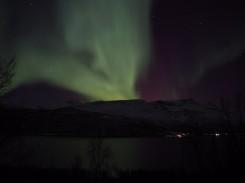 Polarlichter Lyngenalpen