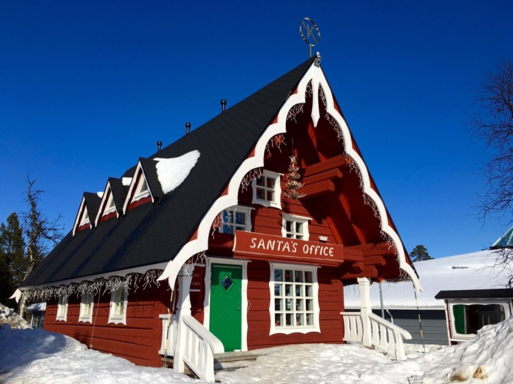 Santas Office in Saariselkä