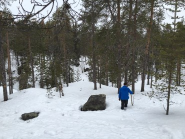 Tief im Schnee auf der Bärenrunde