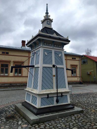 Brunnen im Holzhausviertel