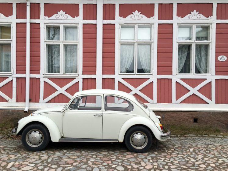 Holzhausviertel mit Käfer
