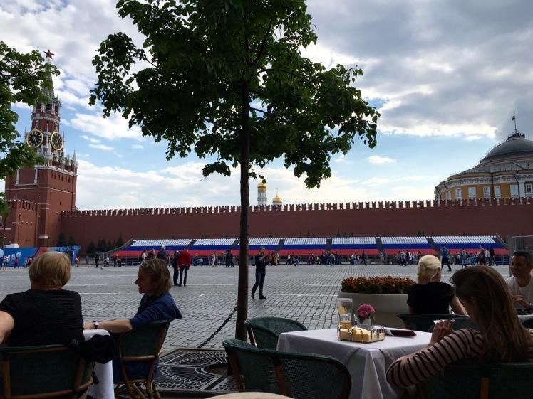 Blick vom Café Bosco im GUM