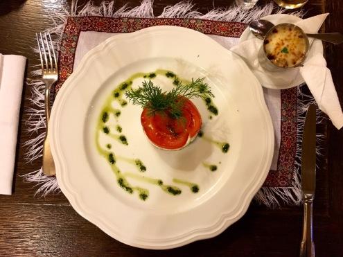 Im Old-Tower-Restaurant: Vorspeise