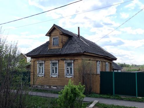 russisches altes Haus