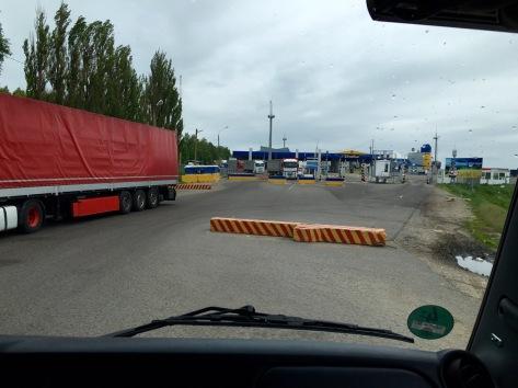 Ukrainische Grenze