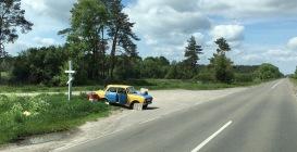 Seriöser geht's nicht: Dieselverkauf in der Ukraine