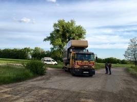 Fusel auf dem ukrainischen Abschlepper