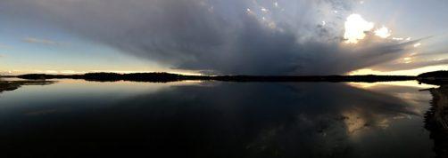 Sonnenuntergang bei Wyborg