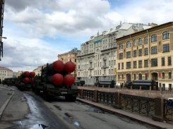 Auftakt zur Militärparade für Putin