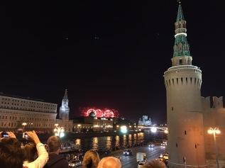 Feuerwerk am Ende des V-Day