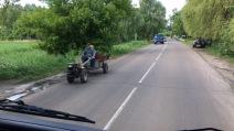 auf ukrainischen Straßen