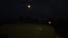 In der Nacht bei Vollmond geht es los