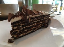Kuchen im Biblioteka