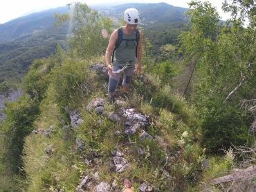 Wegsuche Klettersteig