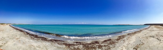 Panorama am Keros Beach