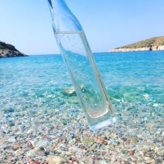 Glasklares Wasser in der Türkei