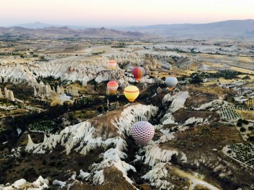 Heißluftballonfahrt Kappadokien