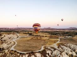 Heißluftballonfahrt in Kappadokien
