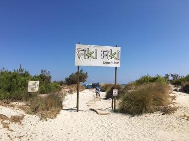 Strandbar auf Limnos
