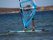 Windsurfen auf Limnos