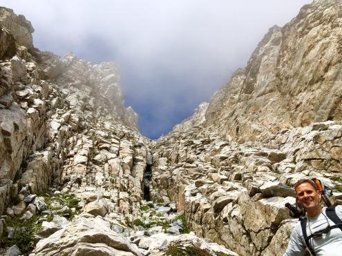 Steiler Aufstieg: Bergsteigen!