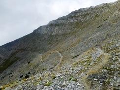Traverse Richtung Mytikas (Zonaria)