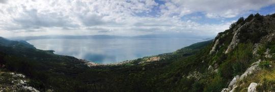 Panorama Ohridsee