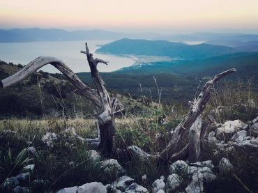 Blick auf Lake Prespa