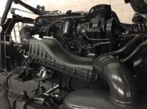 lackierter Motor