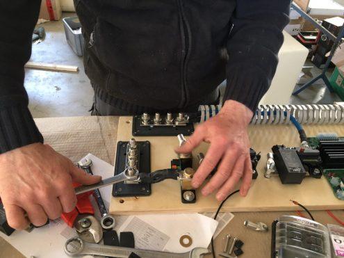 Beim Bau der LiFePo4-Akkus
