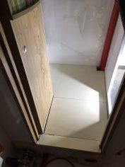 Zwischenbodenplatten im Bad