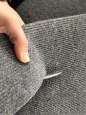 Beim Bekleben des Zwischenbodens: 9cm breite Filzstreifen zum Bekleben der Kanten als Schutz