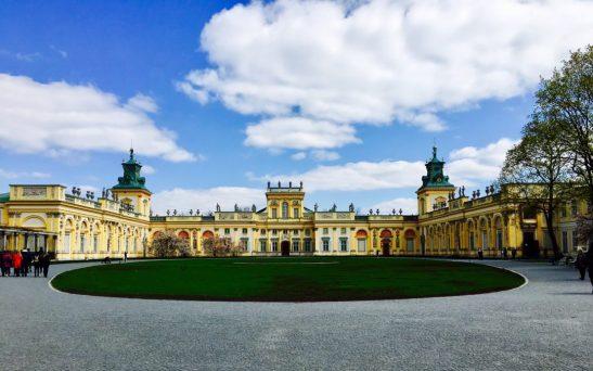 Wilanow-Palast in Warschau