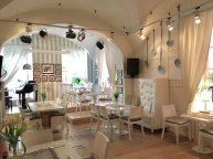 Hübsches Restaurant in Warschau auf dem Markplatz in der Altstadt (Bistro)