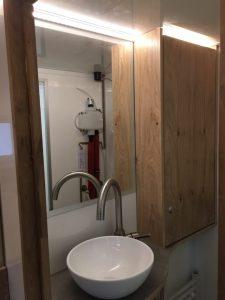 Spiegel und Licht im Bad