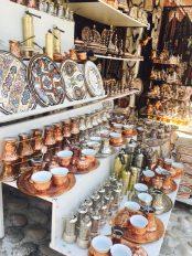 Souvenirstände in Mostar